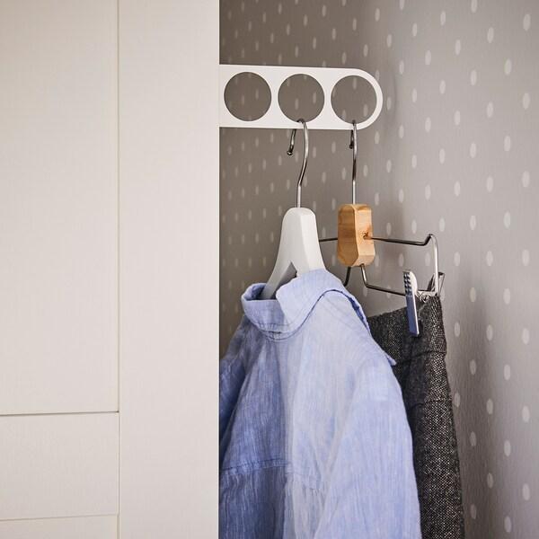 KOMPLEMENT drążek na wieszaki i ubrania biały 17.0 cm 9.0 cm 5 cm 5 kg