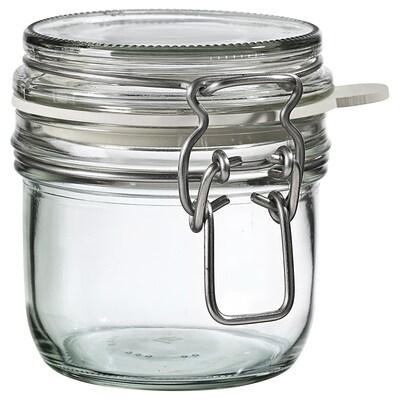 KONCENTRAT Słoik z pokrywką, szkło bezbarwne, 0.3 l