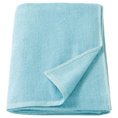 KORNAN Ręcznik kąpielowy, jasnoniebieski, 100x150 cm