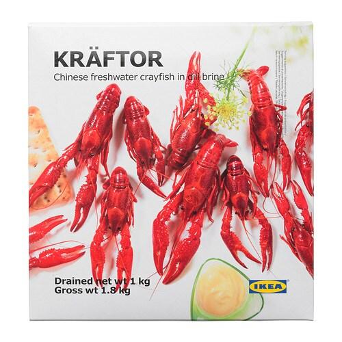 KRÄFTOR Mrożony rak w zalewie koprowej IKEA