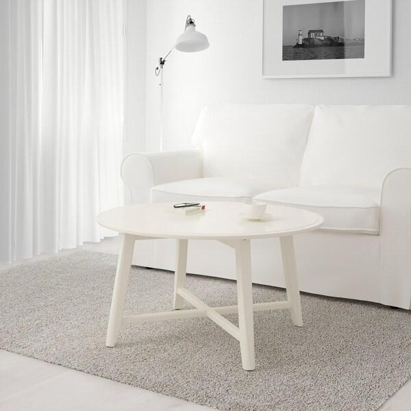 KRAGSTA stolik kawowy biały 48 cm 90 cm