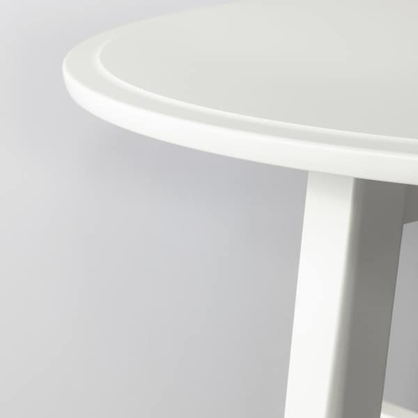 KRAGSTA Stolik kawowy, biały, 90 cm