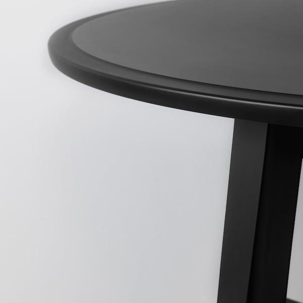 KRAGSTA Stolik kawowy, czarny, 90 cm