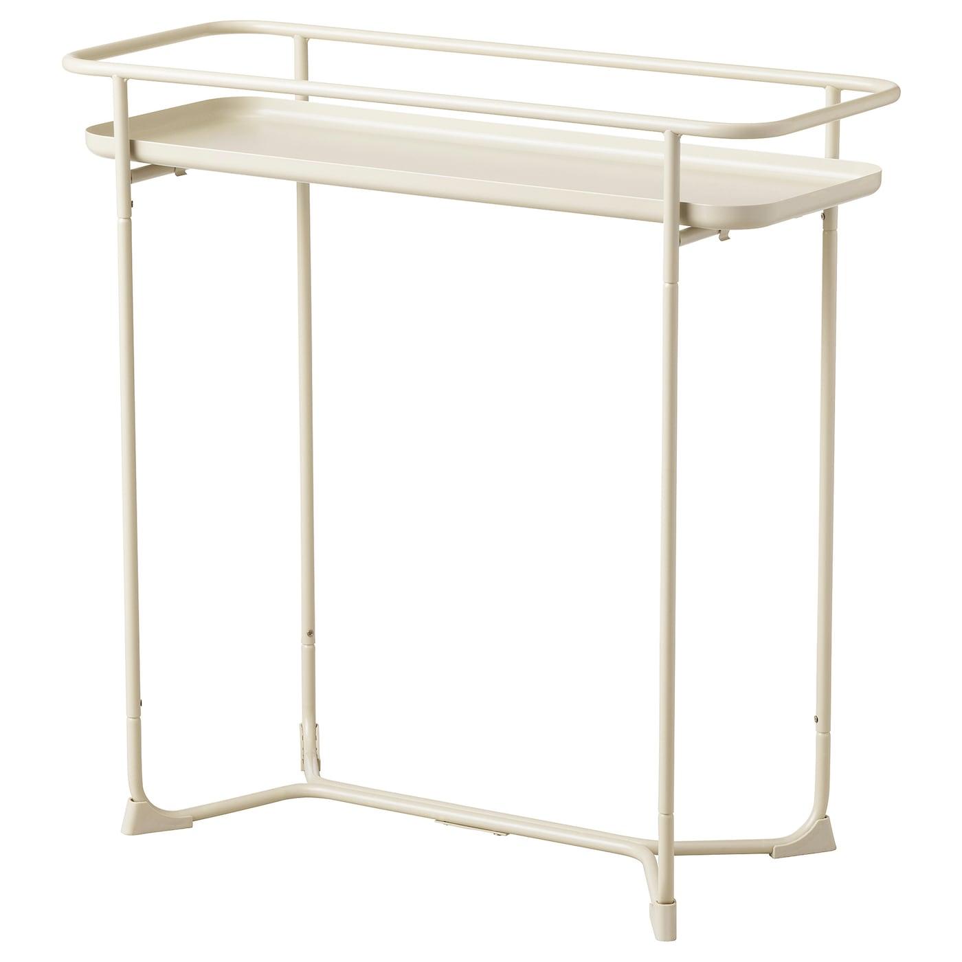 IKEA KRYDDPEPPAR Stojak na doniczkę, do wewnątrz/na zewnątrz beżowy, 65 cm