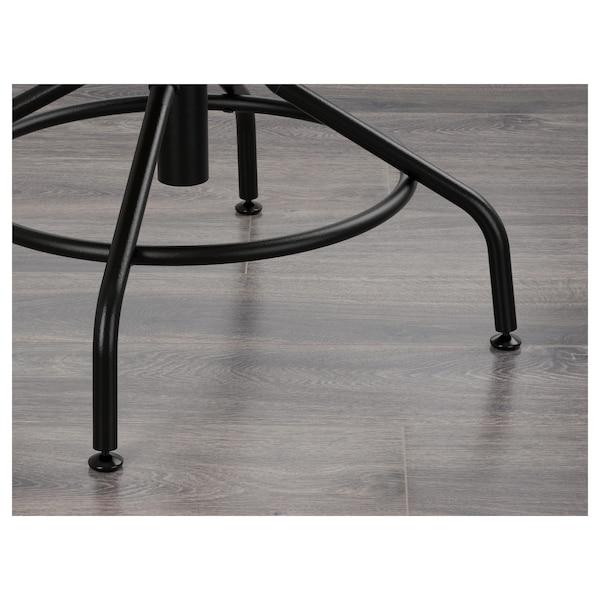 KULLABERG Krzesło obrotowe, sosna/czarny