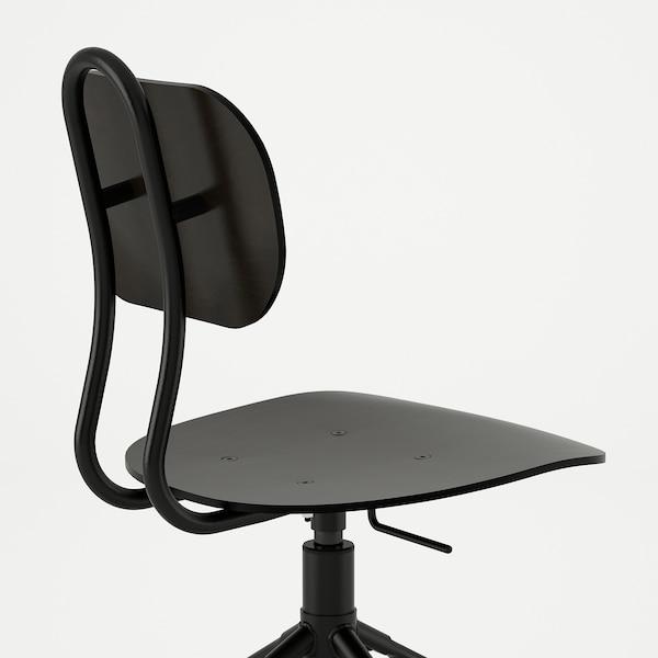 KULLABERG Krzesło obrotowe, czarny, Zamów tutaj IKEA