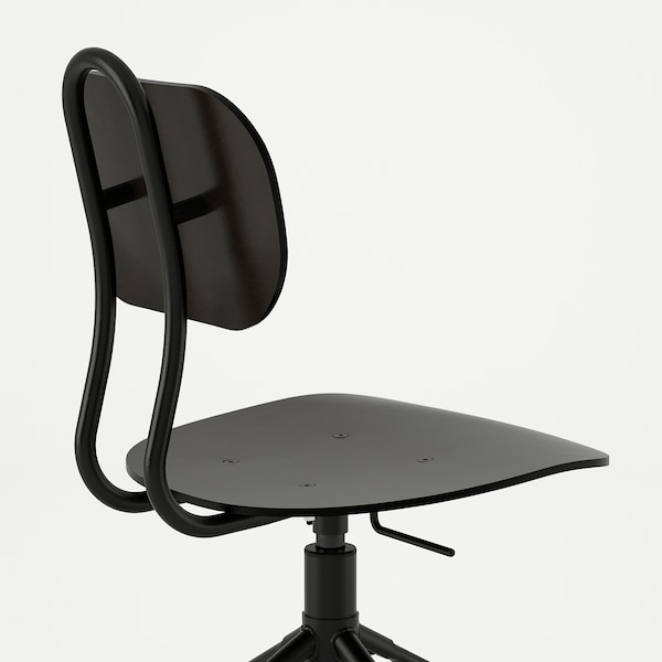 KULLABERG krzesło obrotowe czarny 110 kg 58 cm 58 cm 94 cm 42 cm 39 cm 44 cm 55 cm