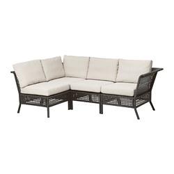 Sofa narożna 3+1, na zewnątrz