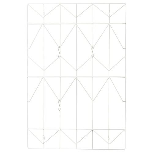 KVICKSUND tablica na notatki biały 58 cm 86 cm 4.3 cm