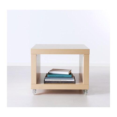 Ikea lack stolik na k kach nocny kawowy 3 kolory 59629294 for Mesa tv con ruedas ikea
