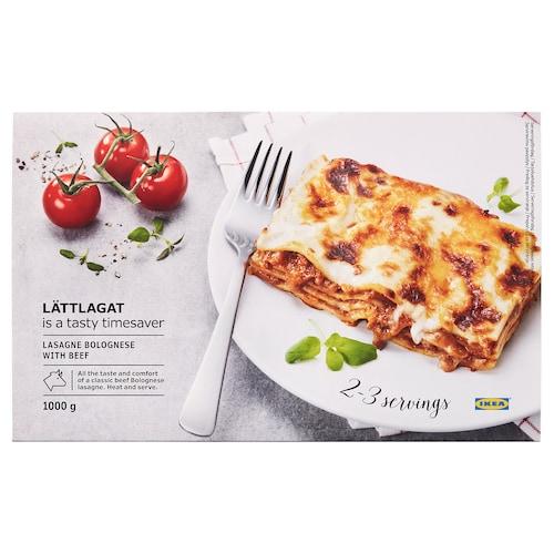 LÄTTLAGAT lasagne bolognese wołowina 1000 g