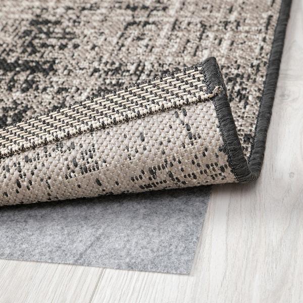 LAMMESTRUP Dywan tkany na płasko, szary patynowany, 160x240 cm