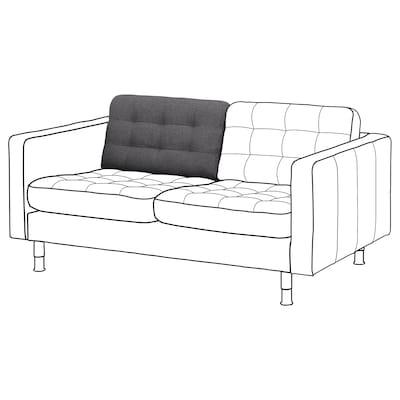 LANDSKRONA Poducha oparcia sofa 2 os, Gunnared/ciemnoszary część zamienna