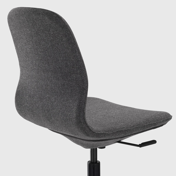 LÅNGFJÄLL krzesło konferencyjne Gunnared ciemnoszary/czarny 110 kg 67 cm 67 cm 92 cm 53 cm 41 cm 43 cm 53 cm
