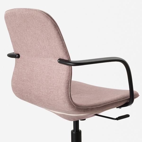 IKEA LÅNGFJÄLL Krzesło konferencyjne z podłokiet.