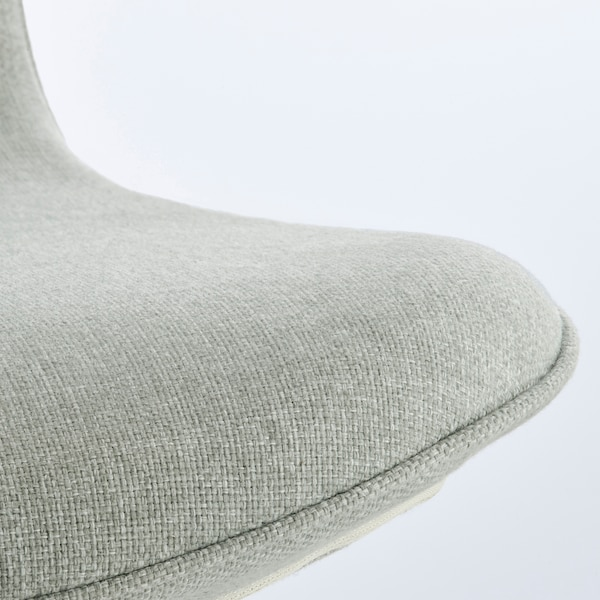 LÅNGFJÄLL krzesło konferencyjne Gunnared jasnozielony/czarny 110 kg 67 cm 67 cm 92 cm 53 cm 41 cm 43 cm 53 cm