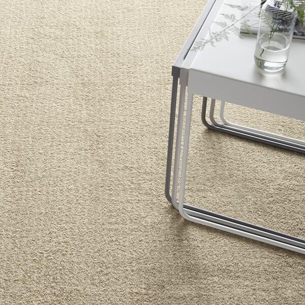 LANGSTED dywan z krótkim włosiem beżowy 240 cm 170 cm 13 mm 4.08 m² 2500 g/m² 1030 g/m² 9 mm