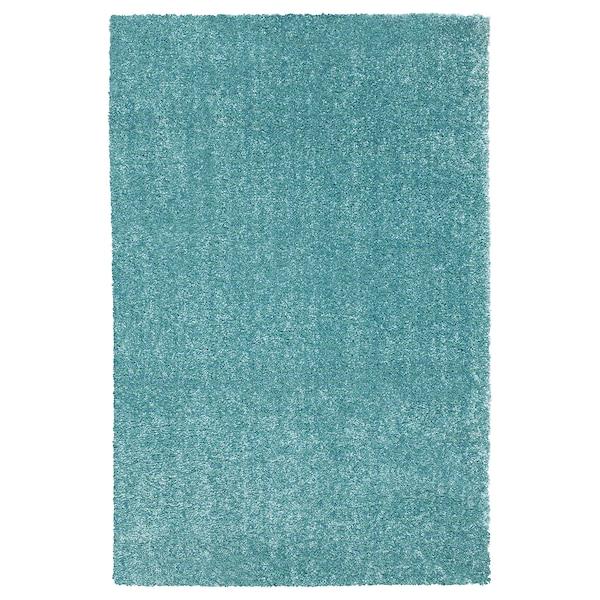 LANGSTED dywan z krótkim włosiem turkusowy 240 cm 170 cm 13 mm 4.08 m² 2500 g/m² 1030 g/m² 9 mm