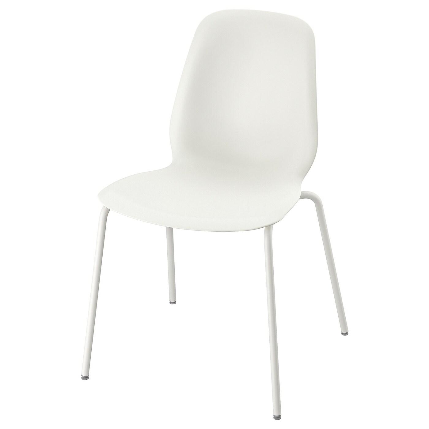 IKEA LEIFARNE białe krzesło