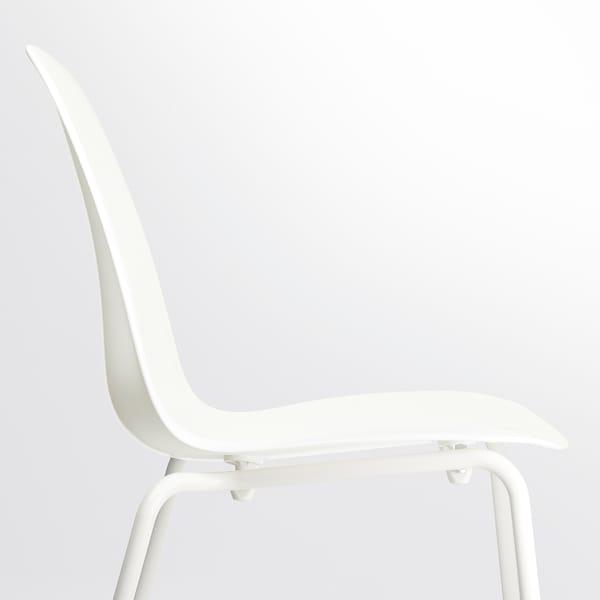 LEIFARNE Krzesło, biały/Broringe biały