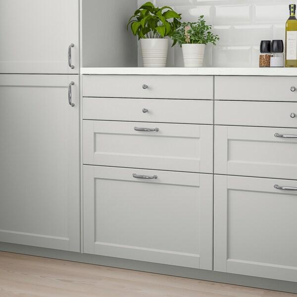 LERHYTTAN Front szuflady, jasnoszary, 60x40 cm