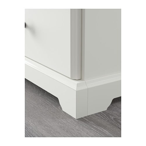 ЛИАТОРП Тумба под ТВ, белый, 145x49x45 см-8