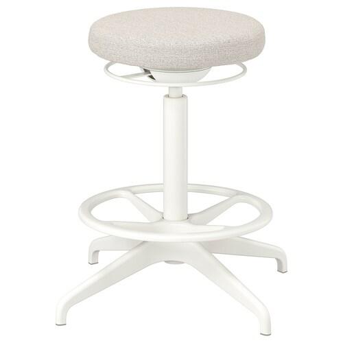 LIDKULLEN stołek do siedzenia/stania Gunnared beżowy 110 kg 38 cm 60 cm 59 cm 81 cm
