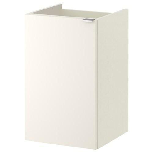 LILLÅNGEN szafka pod umywalkę z drzwiami biały 40 cm 38 cm 64 cm