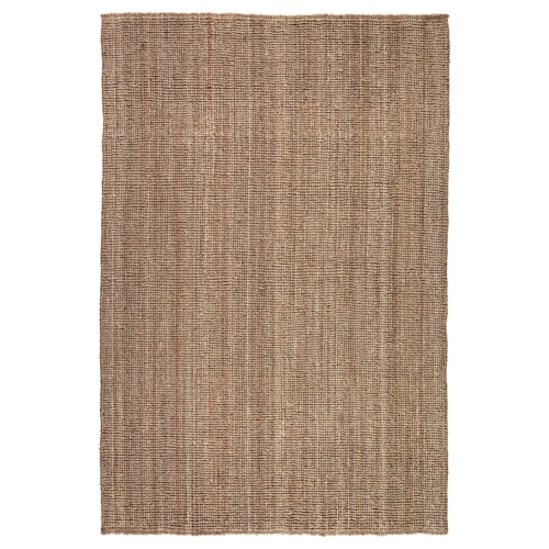 LOHALS dywan tkany na płasko naturalny 230 cm 160 cm 13 mm 3.68 m² 3200 g/m²