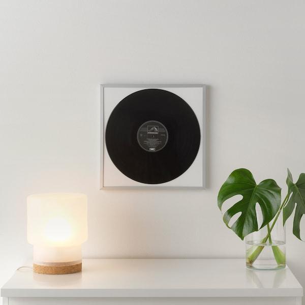 LOMVIKEN Ramka, aluminium, 32x32 cm