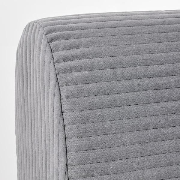 LYCKSELE LÖVÅS Fotel rozkładany, Knisa jasnoszary