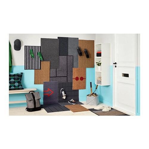 LYNDERUP Придверный коврик, д/дома/улицы разноцветный, 60x90 см-5