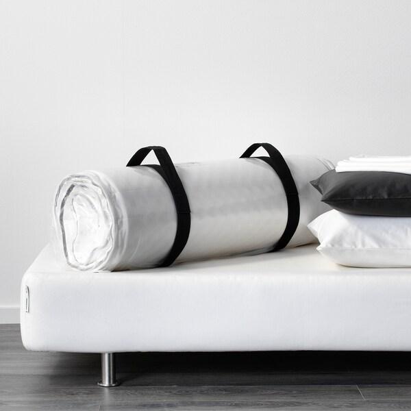 MALVIK Materac piankowy, twardy/biały, 160x200 cm