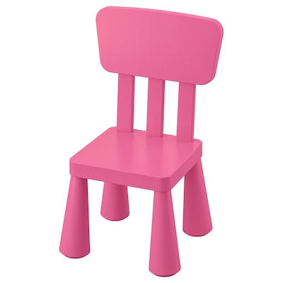 MAMMUT Krzesełko dziecięce, do wewnątrz/na zewnątrz/różowy