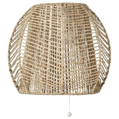 MÅNALG Lampa ścienna, stała instalacja, turzyca/wykonano ręcznie