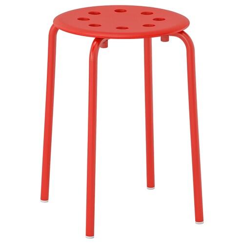 MARIUS stołek czerwony 100 kg 32 cm 40 cm 45 cm