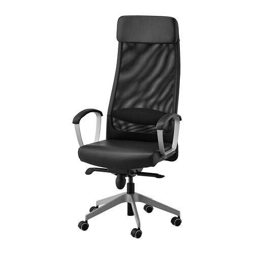 Świeże MARKUS Krzesło biurowe - Glose czarny - IKEA LU57