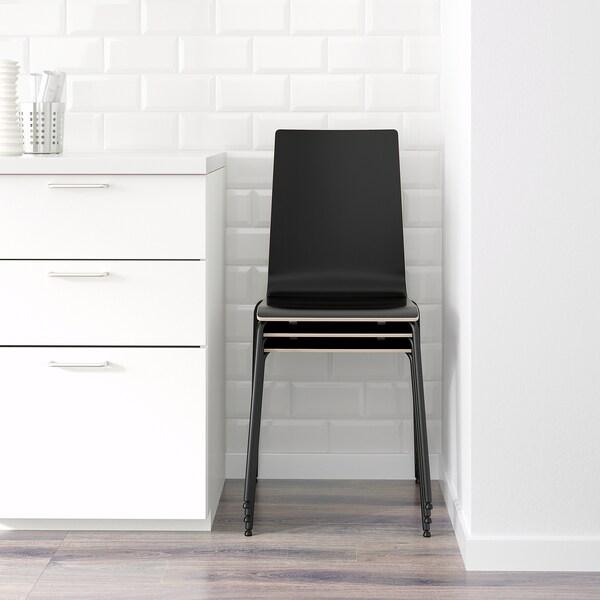 MARTIN Krzesło, czarny/czarny