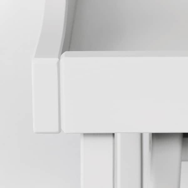 MARYD Stolik z tacą, szary, 58x38x58 cm