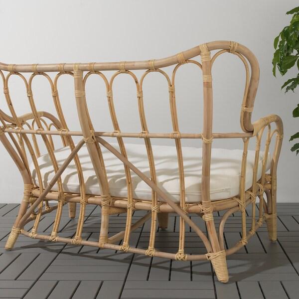 MASTHOLMEN sofa 2-osobowa, na zewnątrz 118 cm 67 cm 80 cm 100 cm 50 cm 37 cm