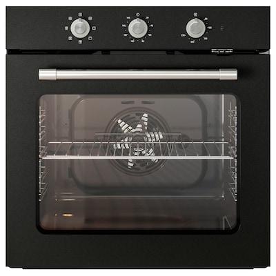 MATTRADITION Piekarnik z wym. obiegiem powietrza, czarny