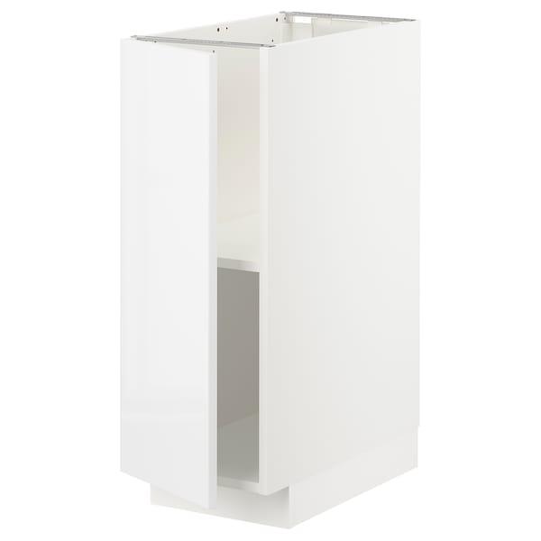 METOD szafka st/półki biały/Ringhult biały 30.0 cm 61.6 cm 88.0 cm 60.0 cm 80.0 cm