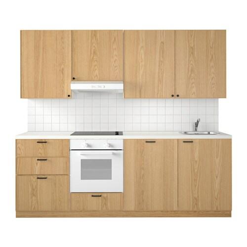 METOD Kuchnia  Ekestad dąb  IKEA