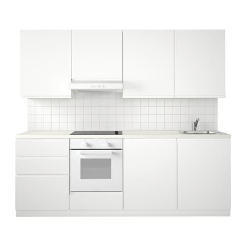 METOD Kuchnia  Voxtorp biały  IKEA -> Kuchnia Ikea Metod