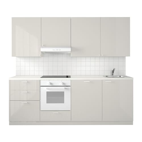 metod kuchnia ringhult po ysk jasnoszary ikea. Black Bedroom Furniture Sets. Home Design Ideas