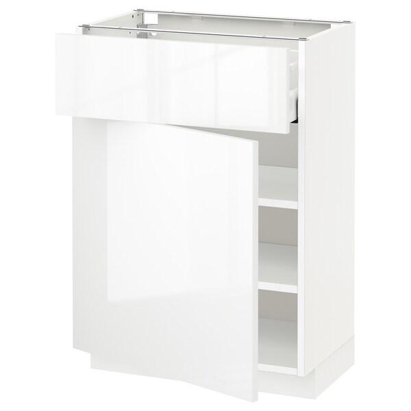 METOD / MAXIMERA szafka stj szu/drzwi biały/Ringhult biały 60.0 cm 39.4 cm 88.0 cm 37.0 cm 80.0 cm