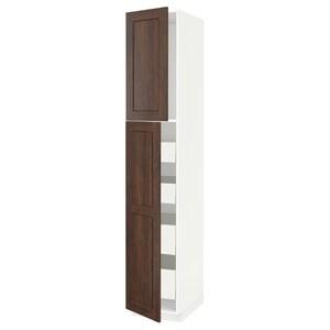 Front: Edserum imitacja drewna brązowy.