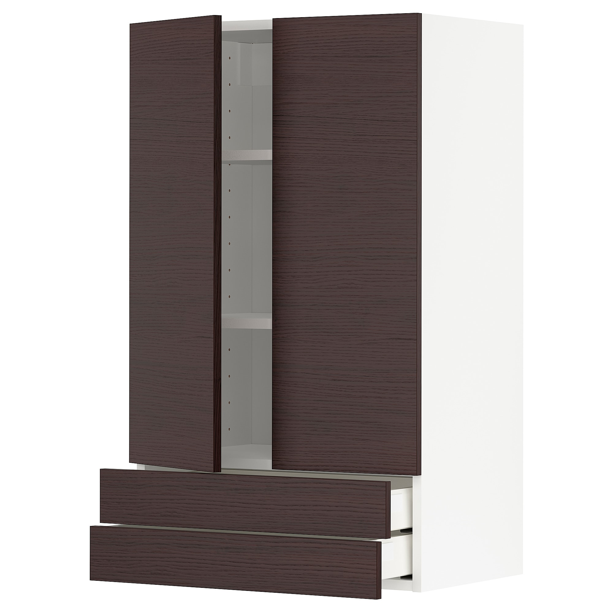 metod / maximera навісна шафа 2 дверцят/2 шухляди