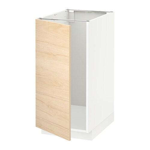 METOD Szafka stj na zlew sortow odpadów  biały   -> Kuchnia Ikea Askersund