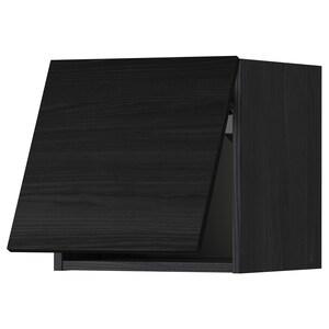Front: Tingsryd imitacja drewna czarny.